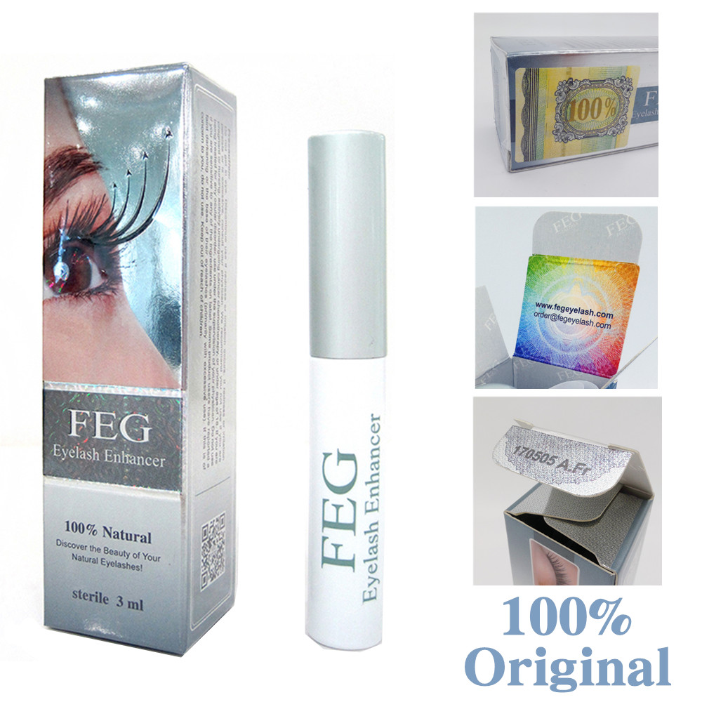 FEG Eyelash enhancer 100% Original FEG eyelash growth treatment eyelash enhancer serum eyelash liquid