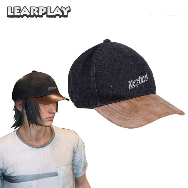 Final Fantasy XV Noctis Lucis Caelum Cosplay Hat FF15 Embroidered Baseball Cap Halloween Costume Accessories ZB000140