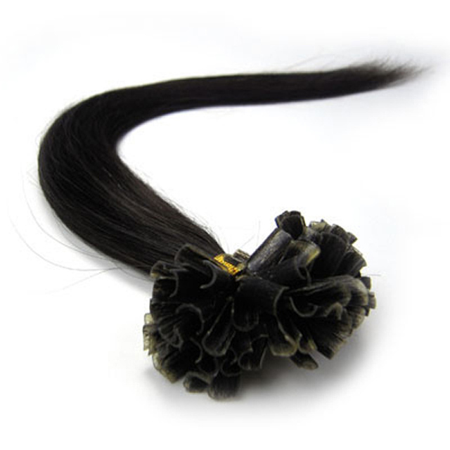 16″-24″ Straight Human Hair Fusion Extension Bundle