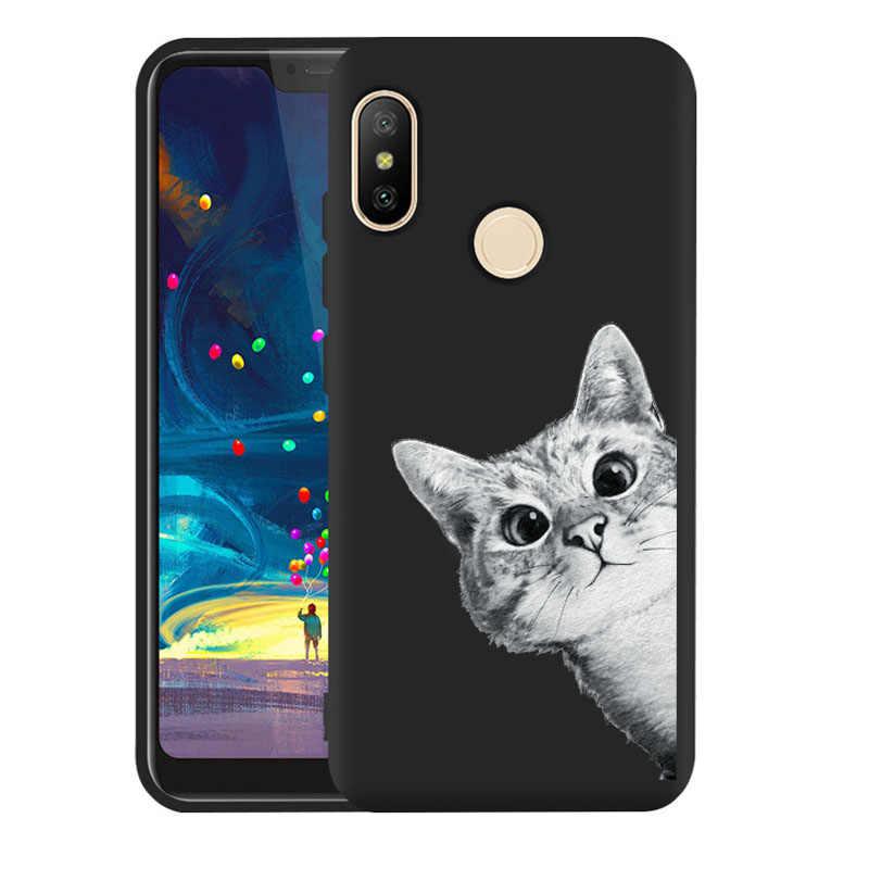 PENSEN 3D สำหรับโทรศัพท์ Xiaomi Redmi 4 4A 4X กรณีปกหลังสำหรับ Xiaomi Redmi 3 S 5 5A 6 6A Plus กรณี Space Cat Moon