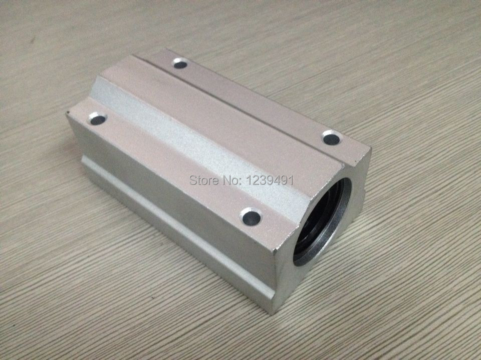 1pcs/lot SCS13LUU SC13LUU linear guide bushing,linear ball bearing for 13mm shaft CNC parts 1pcs scv20 scv20uu sc20vuu 20mm linear bearing block bushing with lm20uu for cnc