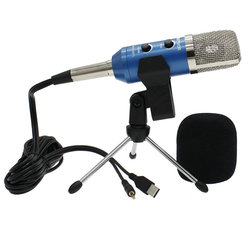Portable MK-F100TL Condenser Microphone Professional Wired System Desktop USB Microphones For Computer Karaoke Video Recording