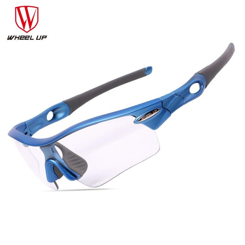 ab1d98177 Ciclismo Photochromic óculos de Sol 3 Lentes de Areia-prova de Ciclismo  Polarizada Óculos de Bicicleta Mulheres Homens Equitação Óculos De Bicicleta