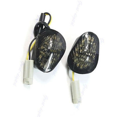 <font><b>LED</b></font> Flush Mount Turn Signals <font><b>Light</b></font> YZF R6 <font><b>R1</b></font> 2008 2007 2006 2005 2004 For <font><b>Yamaha</b></font> qyh image
