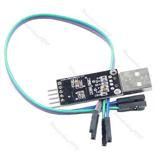 OOTDTY USB To RS232 TTL PL2303HX Auto Converter Module Converter Adapter 5V 3.3V Output