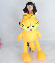 NEW STuffed plush toy lovely big Garfield doll soft Toy birthday gift about 130cm