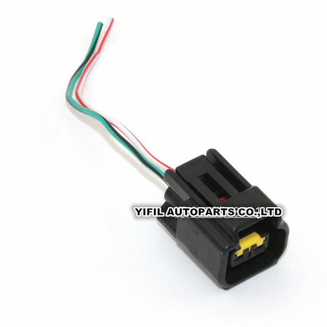 10pcs/lot 2 pin/way ignition coil harness connector plug with wire cable  pigtail