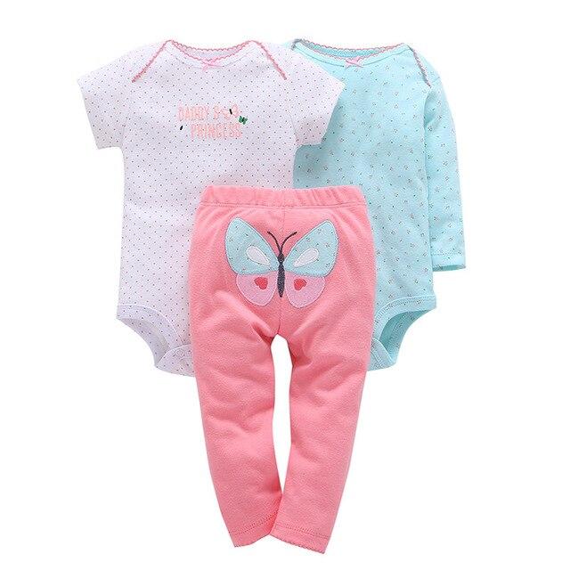 4cfe21808 2018 Original Cotton baby bebes boy girl clothes set