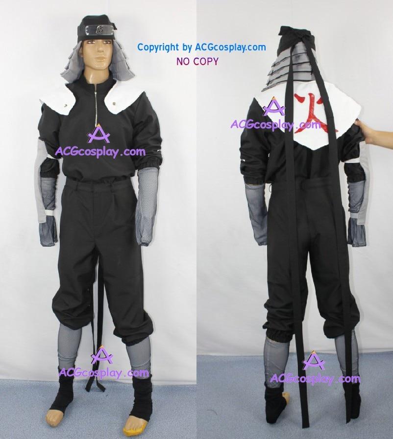 Naruto Clan Sarutobi Clan Hiruzen Sarutobi Costume de Cosplay halloween noël en gros