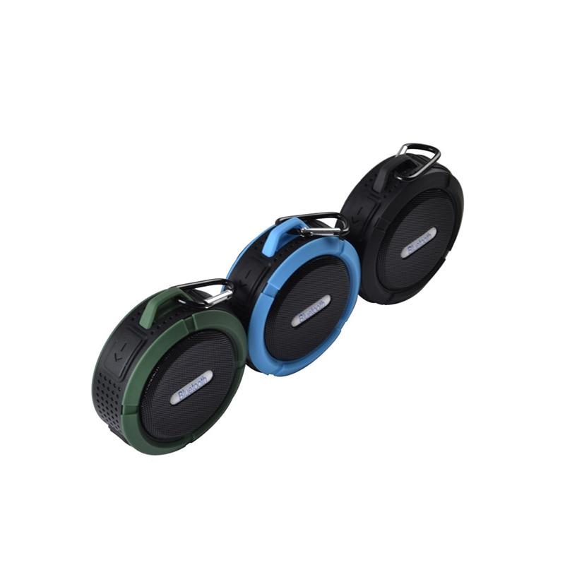 FUU C6 Altavoz Bluetooth impermeable Altavoz inalámbrico Altavoz - Audio y video portátil - foto 5