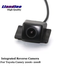 Liandlee Car Rear View Camera For Toyota Camry 2006 2007 2008 Rearview Reverse Parking Backup Camera / Integrated SONY HD CCD new high quality rear view backup camera parking assist camera for toyota 86790 42030 8679042030