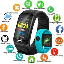 WISHDOIT умные спортивные часы новый Водонепроницаемый часы крови Давление сердечного ритма регистрирующий шагомер для ios Android Фитнес часы + коробка