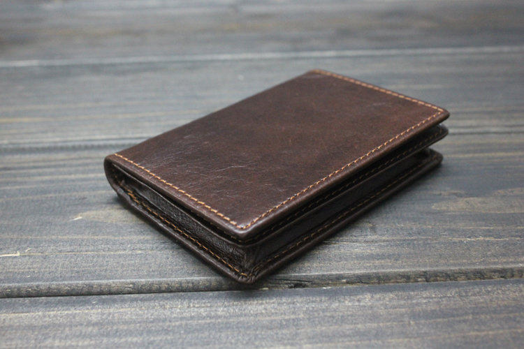 Women S Real Leather Card Holder Men Mini Wallets Business Pocket With Id Window In Holders From Luggage Bags On Aliexpress Alibaba