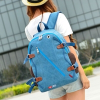 Satchels Canvas Packages Europe Student Shopping Retro Sport School Book Pad College Suitcase Pad Bags Backpacks