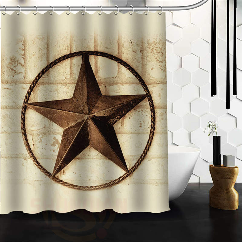 Buy star western shower curtain and get free shipping on ...
