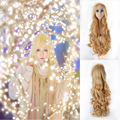 IB Mary 80cm Golden Long Wave Full Hair Cosplay Costume Wig