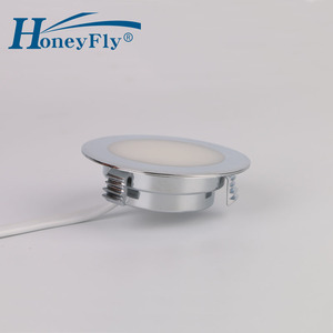 Image 4 - Honeyfly特許ledダウンライト220 240v 2ワットled天井スポットランプsmd 2835屋内55ミリメートルカット穴非常に簡単なインストール