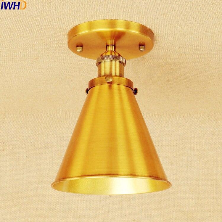 Vintage Industrial Loft Style Ceiling Fixtures Retro Lamp: Retro Vintage Ceiling Light Fixtures Living Room