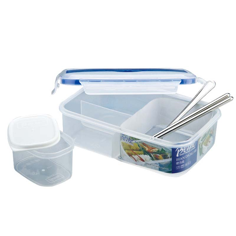 Hoomall Microwaveable Plastic Lunch Boxes 4