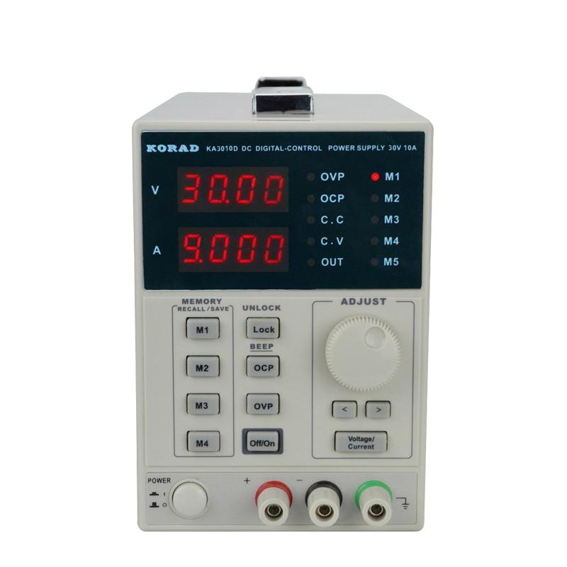 KA3010D DC regulated power supply is adjustable Linear digital display mobile phone repair power supply diy lm337t linear regulated dc power supply adjustable filtering kit