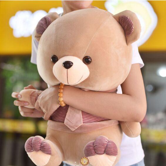 new plush teddy bear toy stuffed tie teddy bear doll gift toy