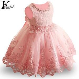 7d2d5e1cb1d8 KEAIYOUHUO Princess Party Kids Dresses For Girls Dress