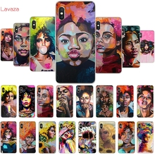 Lavaza Anette Tjaerby  Gal Afro Hair Pop Art Hard Phone Cover for Xiaomi Redmi Note 5 6 7 Pro for Redmi 5 Plus 5A 6A Case цены онлайн
