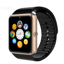 UWatch GT08 Smart Watch Bluetooth Clock With Sim Card Slot Push Message Health Android Wear Smartwatch for Samsung Apple iphone