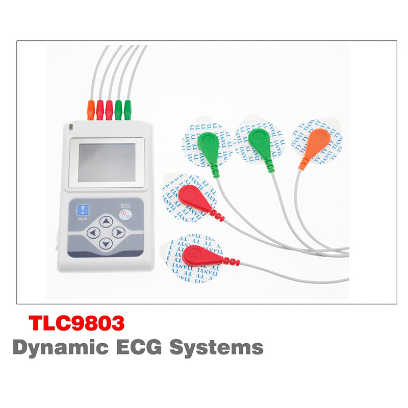 New Arrival TLC9803 Brand Contec Three Channels ECG Holter ECG/EKG Holter Monitor System For Health Care btl cardiopoint holter h100