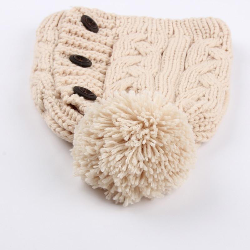1 Unids Skulies Gorras de Punto Sombrero de Invierno Sombreros de ...