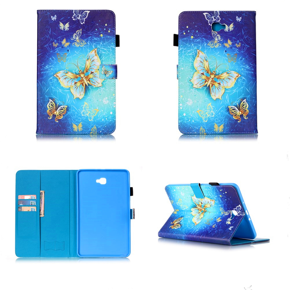 For Samsung Galaxy Tab A A6 10.1 2016 T585 T580 PU Leather Tablet Stand Case For Samsung Galaxy Tab E 9.6 T560 T715 T815 #R