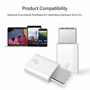 Image 2 - Portefeuille 100PCS USB Type C Adapter USB C to Micro USB Adapter Converter for Nexus 5X Xiaomi Samsung Galaxy S8 Plus Oneplus 5