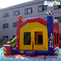 Low Price Inflatable Bouncing Castle Moonwalk with Slide for Sale
