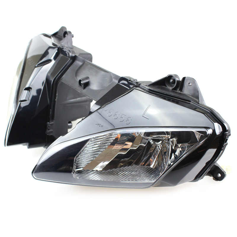 Motorcycle Front Headlight Head Light Lamp Headlamp Assembly For Yamaha YZF R6 2006 2007