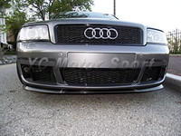 Fiber Glass FRP BS Style Front Grille Fit For 1999 2004 AUDI A6 C5