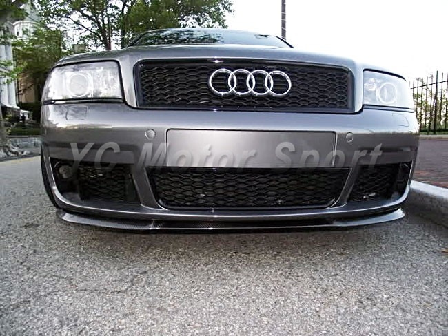Car Accessories FRP Fiber Glass BS Style Front Grille Fit For 1999-2004 A6 C5 Front Grille Car-stying