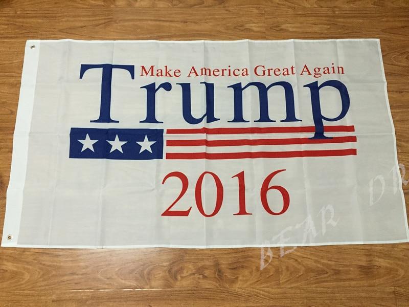 Donald font b Trump b font President 2016 Flag 3x5 FT 150X90CM Banner 100D Polyester Custom