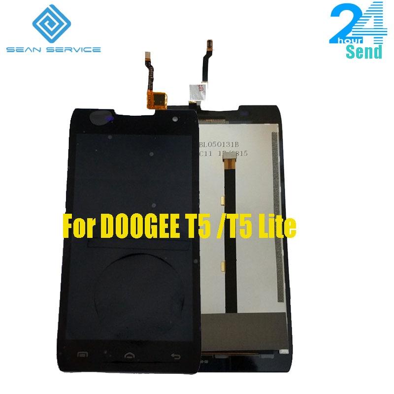 100% Original DOOGEE T5 T5 Lite LCD Display + Touch Screen Digitizer Montage Panel Digitale Replacemen Werkzeuge 5,0