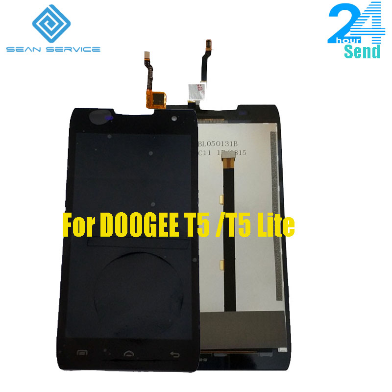 100% Original DOOGEE T5 T5 Lite LCD Display + Touch Screen Digitizer Montage Panel Digitale Replacemen Werkzeuge 5,0