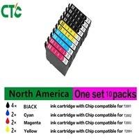10 Set T2001 T200 Xl Compatible Ink Cartridge For Epson XP 100 XP 200 XP 310