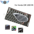 2015 black color motorcycle accessories motorcycle side tank pad protector 3M motocross decal sticker for HONDA CBR 1000RR 08-12