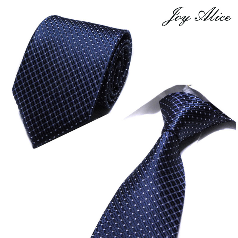 Men Tie 8cm Business Men Fashion Striped lattice Neckties Gravata Jacquard man 39 s Wedding dress Ties shirt Accessories in Men 39 s Ties amp Handkerchiefs from Apparel Accessories