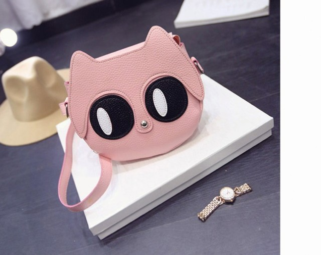 2017 Summer Girls Messenger Cartoon Cat