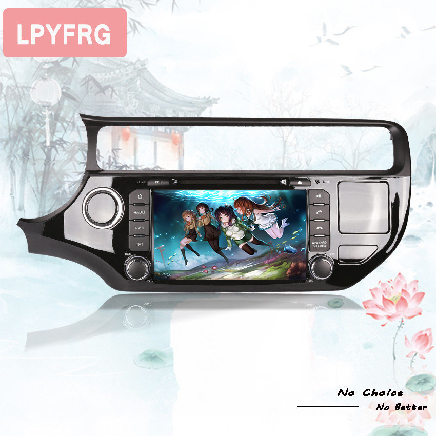 factory sell best 8core android 9.0 px5 rk3188 auto stereo car music video radio fm mp5 media gps monitor hd screen for rio 2015 - 2