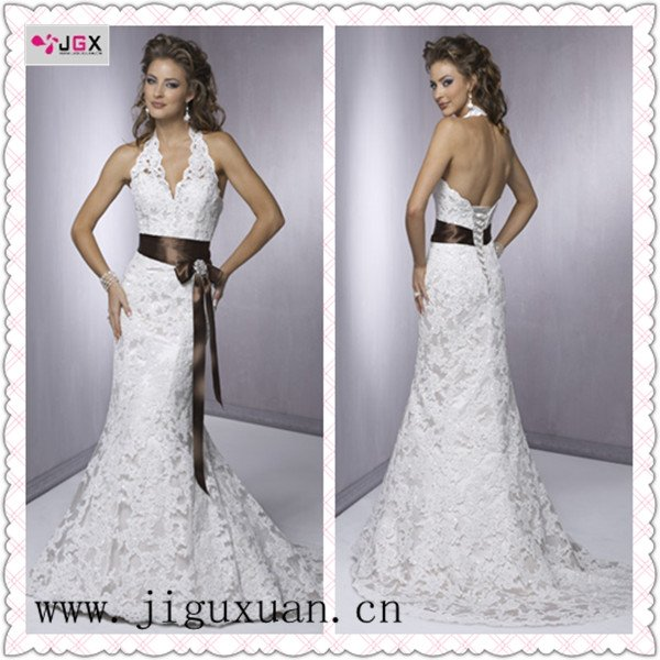 Spanish Wedding Dresses: NEW Style Wholesale/custom Made R1204 Spanish Lace Wedding