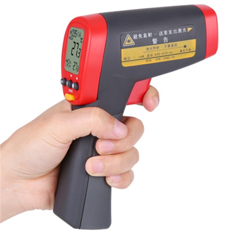 UNI T UT301C industrial Thermometer digital Infrared Temperature meter 18 550C Non contact infrared thermometer gun