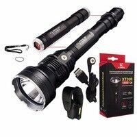 Перезаряжаемые фонарик Кларус xt30r 820 м Cree xhp35 Hi D4 светодиодный max.1800lm луч расстоянии 820 м Охота свет + аккумулятор пакет