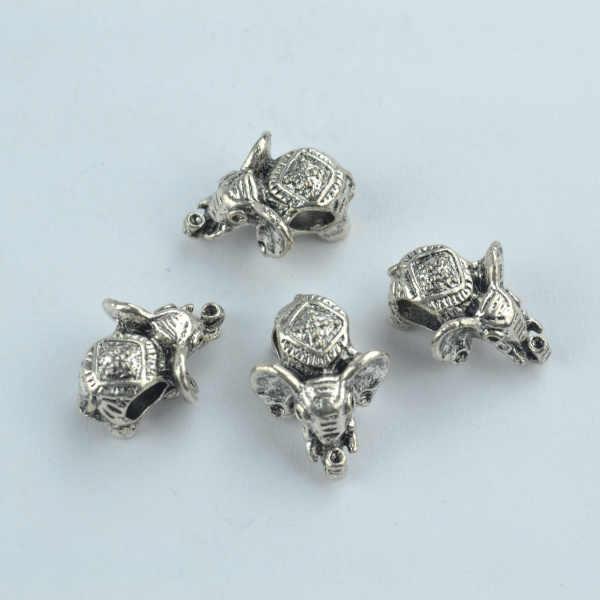 16pcs Owl Tibet silver Charms Bracelets Jewellery Making crafts 20×11mm