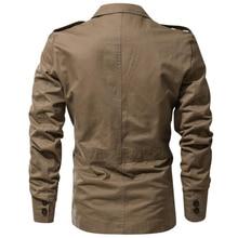 Hot Military Fashion Men Blazer Slim Fit Cotton Trend Washed Blazers Men Suits Casual Jacket Men Blazer Masculino Dropshipping