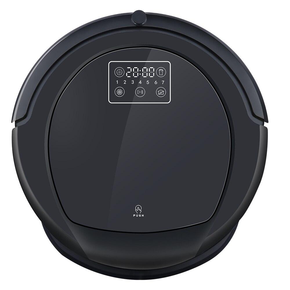 Робот-пылесос B6009 в чисто черный, карта навигации многофункциональный, smart memory Регулируемая мощность всасывания, сухой/влажной уборки